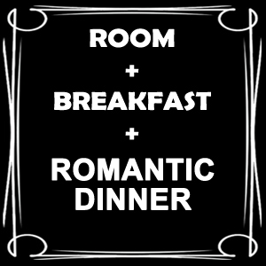 Room with Romantic Dinner